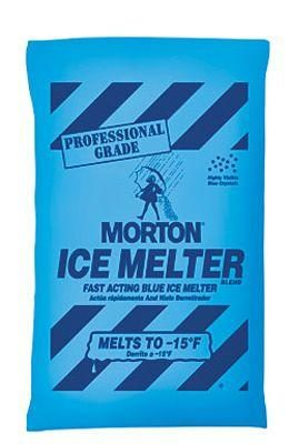 MORTON 50LB BAG PRO GRADE (BLUE) ICE MELT